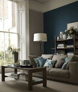 living room gray paint teal accent wall gray couch