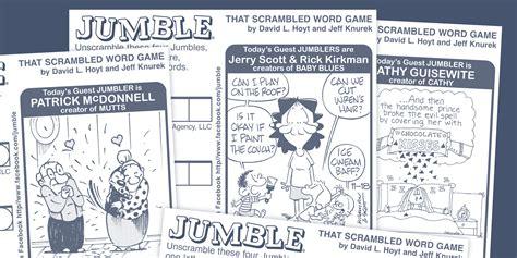 Jumble Announces 2nd Annual Guest Jumbler Week