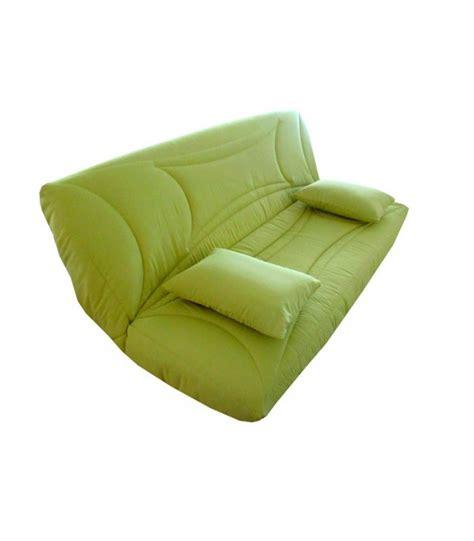 canapé clic clac 140x190 housse de clic clac 140x190 pas cher vert fabricant