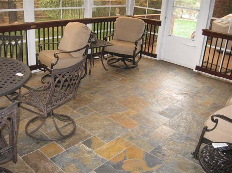 screen porch flooring options archadeck of