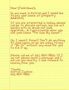 image gallery yellow letters With probate real estate investing letter