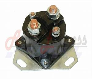Ford Diesel Glow Plug Relay Solenoid For 6 9 7 3 Turbo