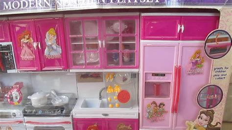 Barbie Dream Doll House Princess Kitchen Toy Playset