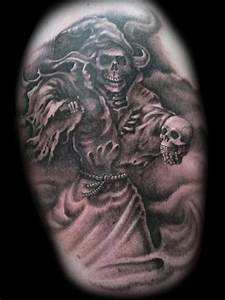 Grim Reaper Tattoo Images & Designs