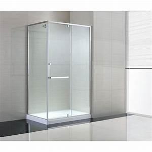Schon Brooklyn 48 in x 79 in Semi-Framed Corner Shower