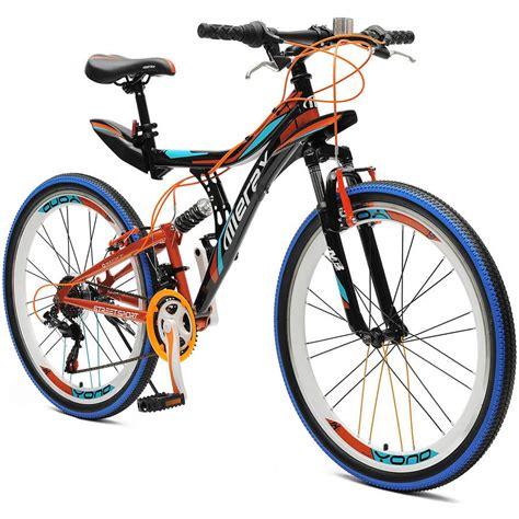 26 Inch Merax Yond Dual Suspension 21 Speed Mountain Bike