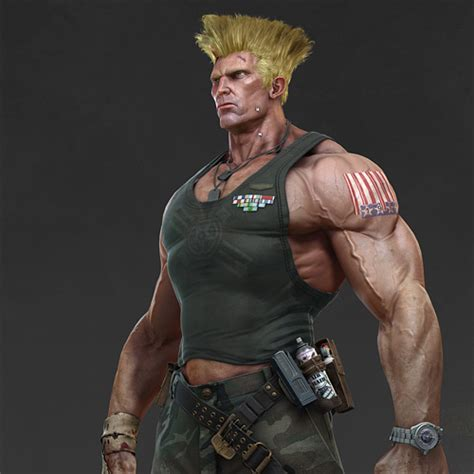 Street Fighter Characters Guile Street Fighter Image
