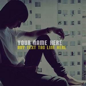 Write your name in smoke