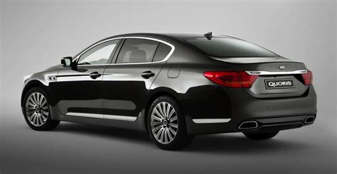 kia quoris luxury sedan   australian debut