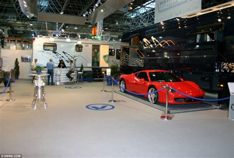 The £12million Motorhome With A Stateoftheart Kitchen
