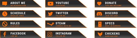 twitch labels templates csgo bork bok bok free twitch overlay from twitch temple