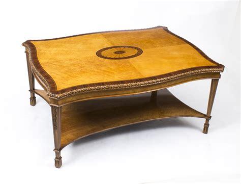 regent antiques coffee tables stunning birdseye maple