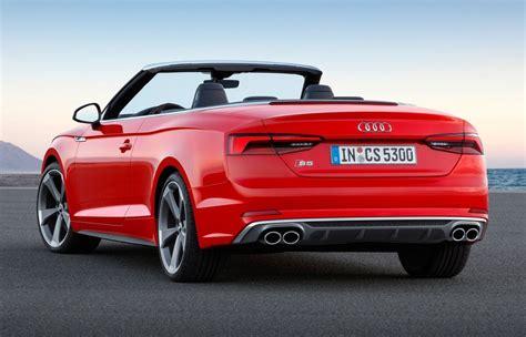 2017 Audi S5 Cabriolet 2017 2018 Cars Reviews