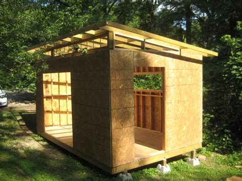 Diy Yard Shed by Diy Modern Shed Project Diyatlantamodern