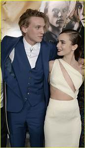 Are Lily Collins U0026 Jamie Campbell Bower Back Together