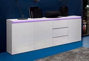 Sideboard Weiß Hochglanz 180 Cm : tecnos sideboard breite 200 cm online kaufen otto ~ Indierocktalk.com Haus und Dekorationen
