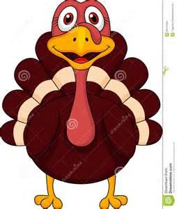 Cute Thanksgiving Turkey Cartoon