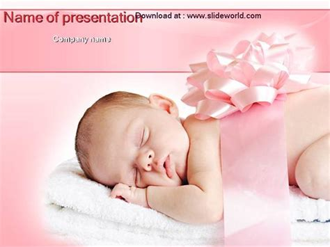 baby powerpoint templates  highest quality