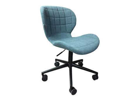 chaise de bureau tissu chaise bureau tissu achatdesign