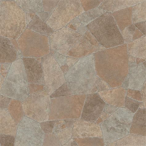 Linoleum Sheet Flooring Menards by Ivc Impact Sheet Vinyl Flooring Flagstone Terra 43 12 Ft