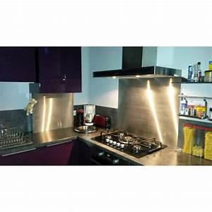 Credence Fond De Hotte : fond de hotte inox 60cm x 60cm fabrication fran aise ~ Dailycaller-alerts.com Idées de Décoration