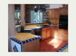 mexican tiles for kitchen backsplash mexicantiles mexican talavera tile in kitchen island countertop backsplash