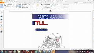 Takeuchi Track Loader P Tl8 E Xa Parts Manual - Dhtauto Com