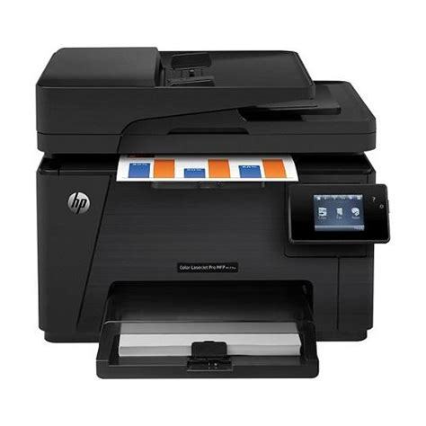 The hp laserjet pro mfp m127fw prints all your professional color documents at up to 28 ppm (using both black and color cartridges) for little interruption in workflow. Buy Hp Laserjet Pro MFP M127FW Online