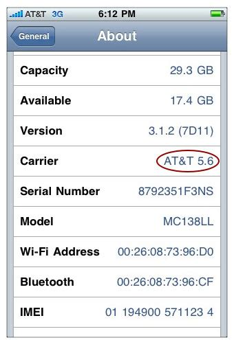 what is carrier update for iphone iphone savior iphone update 3 1 2 arrives with at t