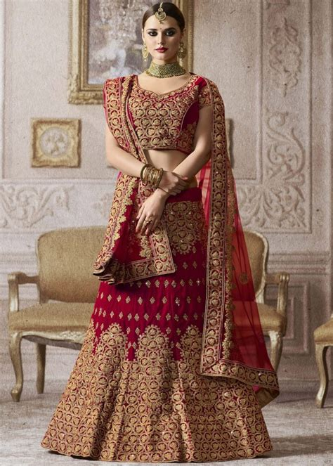 Beautiful Bridal Lehenga Designs Collections 2018 Images