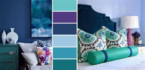 chambre bleu violet chambre bleu canard avec quelle couleur accords classe