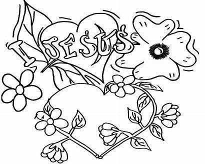 Coloring Pages Hearts Heart