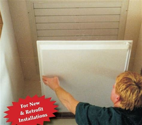whole house attic fan cover conservation strategies one stop shop for weatherization