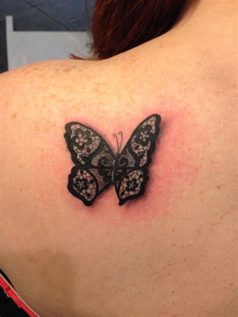 Lace Butterfly Tattoo  Ink Pinterest