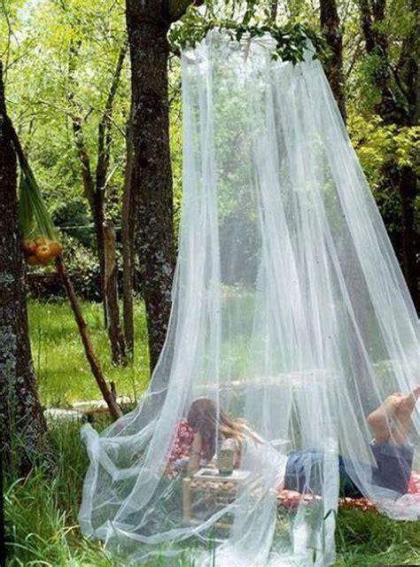 romantic outdoor canopies  tents   mosquito