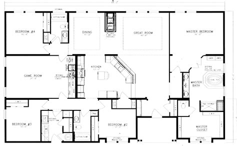 40x60 home floor plan i like the separate mudroom