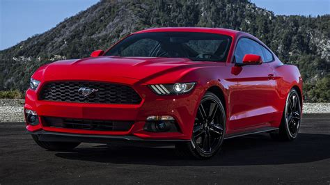 Ford Mustang Red Hd Wallpaper HD