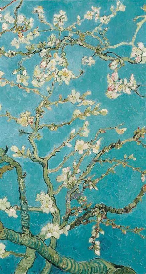 van gogh iphone wallpaper van gogh blossom wallpapers wallpaper cave Van G