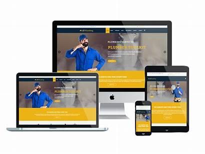 Plumbing Template Responsive Et Website Joomla