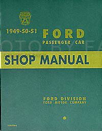 ford car shop manual  paper