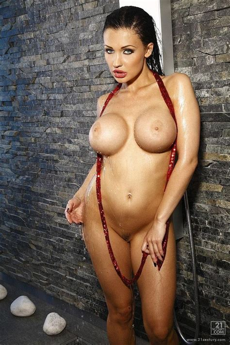Aletta Ocean Rubs Her Perfect Tits In The Shower Sextury Pictures