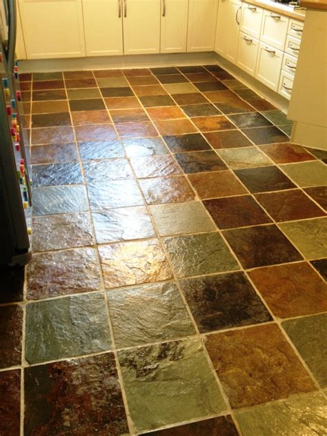 slate floor tiles kitchen house cleaning service house cleaning services glasgow 5313