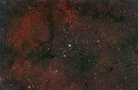 elephant trunk nebula ic  astronomy magazine