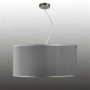 Lampe Grau Stoff : lampe grau haus ideen ~ Indierocktalk.com Haus und Dekorationen