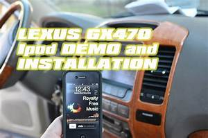 Lexus Gx470 Ipod Aux Adapter Installation  With Vais  Keep Factory Cd Changer  By Autotoys Com