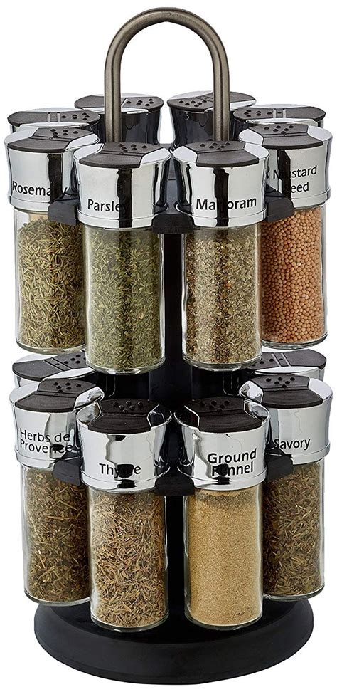 Thompson Spice Rack by Olde Thompson 16 Jar Carousel Spice Rack Oldrids Downtown