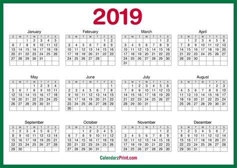 printable  calendar  hd green calendarzprint