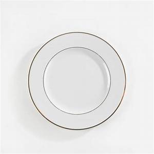 Assiette Creuse Blanche : assiette plate porcelaine blanche filet or ~ Teatrodelosmanantiales.com Idées de Décoration