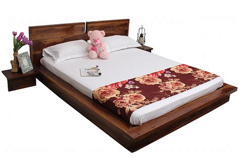 zen sleep sheesham queen double bed