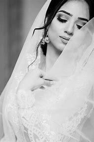 Black and White Wedding Veil